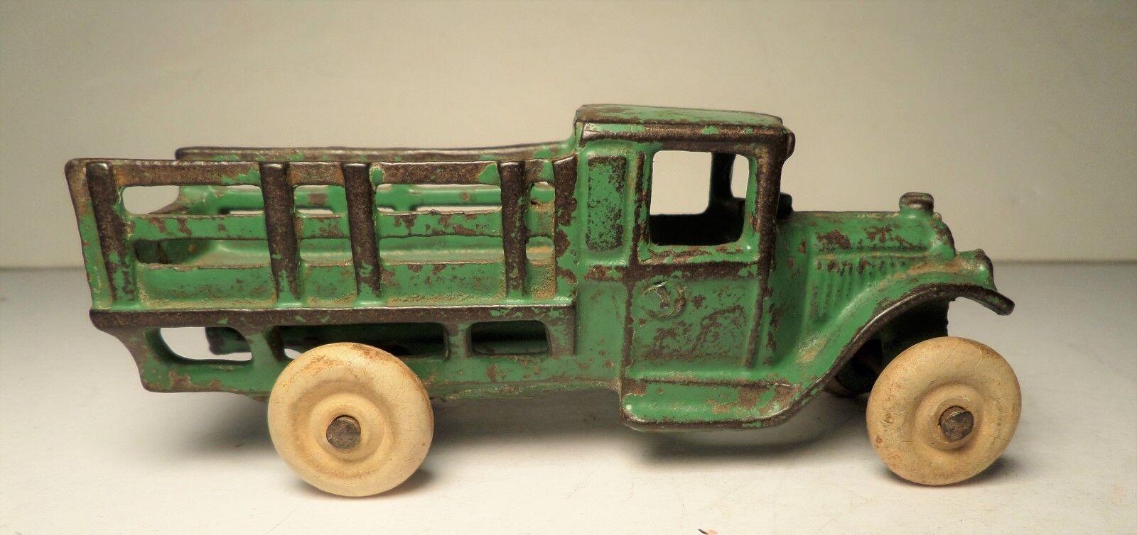 precios bajos 1920s Arcade Arcade Arcade verde Ford Estaca camión  213 Hubley  encuentra tu favorito aquí