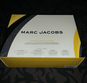 MARC JACOBS BEAUTY The Glow Show Hydrating Skincare & Makeup Essentials ~ NIB