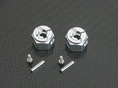 Radmitnehmer 12 x 10 mm für Tamiya WildWilly2 Wild Willy 2 Alu Tuning 2 Stück