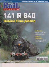 RAIL PASSION N°124 141 R 840 / TER CADENCES RHONE ALPES / MAT SNCF POUR LE MAROC