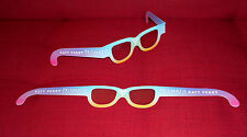 KATY PERRY PRISMATIC TOUR 2015 1 GLASSE LUNETTES PRISMVISION - OFFICIAL RARE