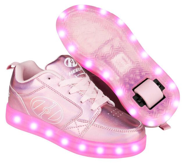 Heelys Light Pink Hologram Premium 2 Lo