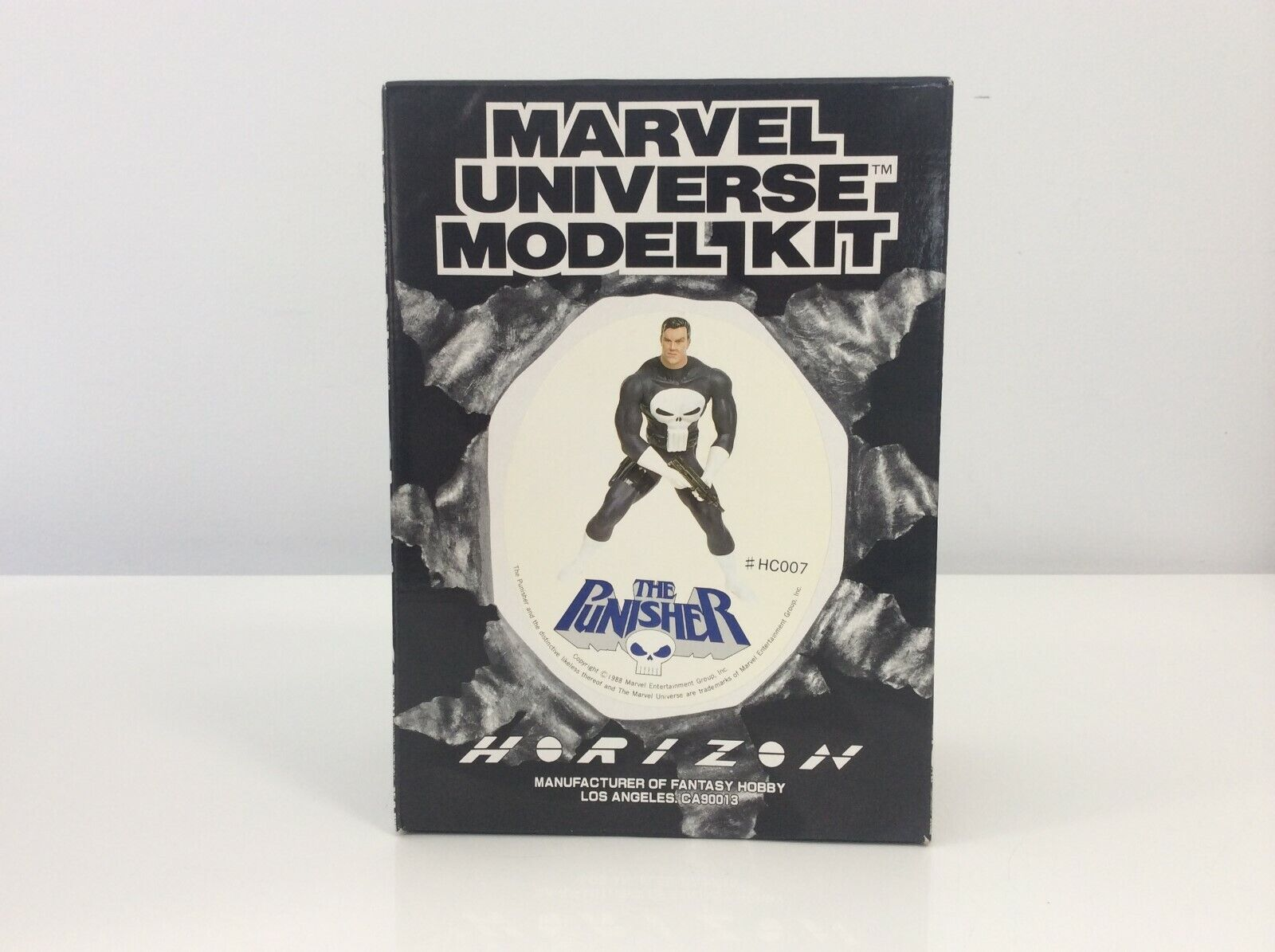 Vintage 1988 Marvel Universe Model Kit - The Punisher - MISB HC007