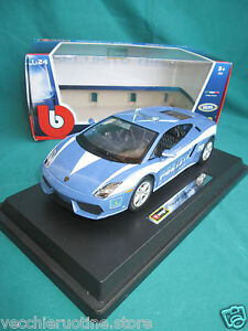 BBURAGO-BURAGO-SECURITY-TEAM-1-24-LAMBORGHINI-GALLARDO-LP560-4-POLIZIA-POLICE