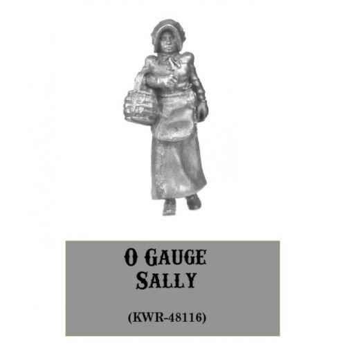 Knuckleduster KWR-48116 Sally Western Rail Old West Female Pioneer NIB O Gauge