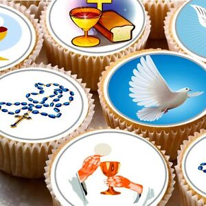 24-Edible-cake-toppers-decorations-ND2-1st-First-holy-communion-Baptism