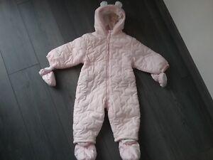 daf5ed9c6efe8 Combinaison bébé fille rose pâle Taille 86 cm 18 24 MOIS BABY CLUB ...