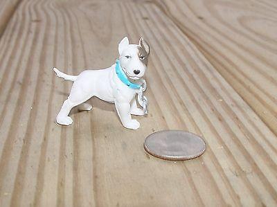 Bull Terrier Cane Protezione G Scala 1/ Xviii O 1/24 Scala Accessori Diorama! Alta Resilienza