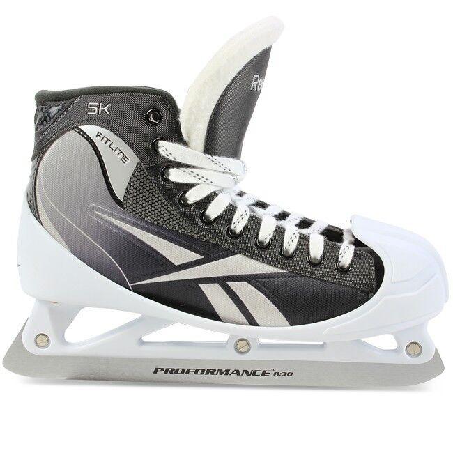 vakaa laatu tukkukauppa tilata netistä Reebok 5K Goal ice hockey goalie skates senior size 10D Sr. Sz. Brand New  In Box