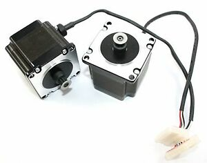 Nema23 Single Shaft 1 3a 173oz In Stepper Motor With Belt