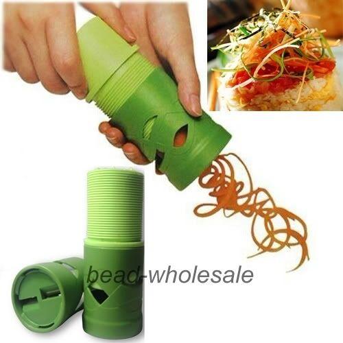 Vegetable Fruit Twister Cutter Slicer Processing Device Kitchen Utensil Tool