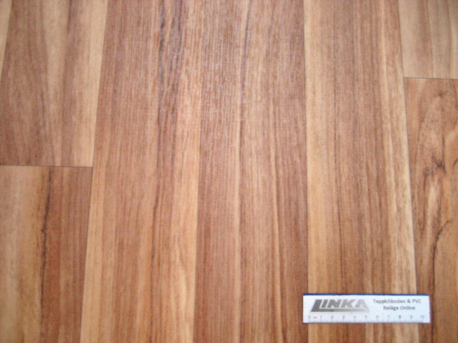 6343 PVC CV Belag Rest 540x99 Boden Bodenbelag Tropic robust günstig Walnuss