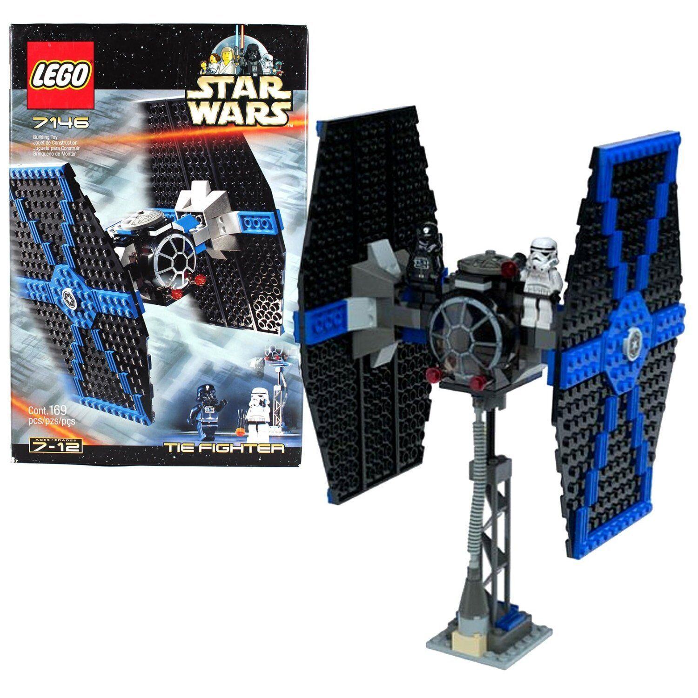 Nouveau Lego Star Wars    7146 cravate FIGHTER NEUF Scellé Comme neuf Building Toy RARE obsolète  assurance qualité