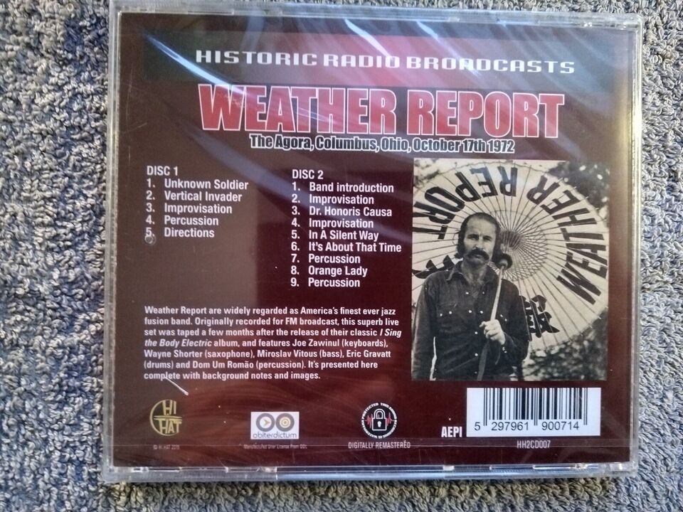 Weather Report: october 17th 1972, jazz