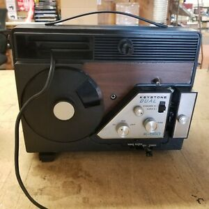 Vintage-Keystone-Dual-K-560-8mm-Film-Projector-Parts-Repair