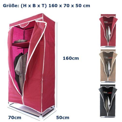 Faltschrank Kleiderstange Stoffschrank Textilschrank Stoffablage Kleiderschrank