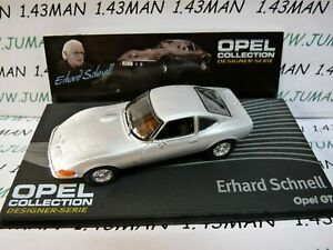 OPE121R-voiture-1-43-IXO-designer-serie-OPEL-collection-GT-E-Schnell