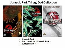 JURASSIC PARK TRILOGY COMPLETE PART 1 2 3 (2006) COLLECTION 1-3 NEW UK R2 DVD