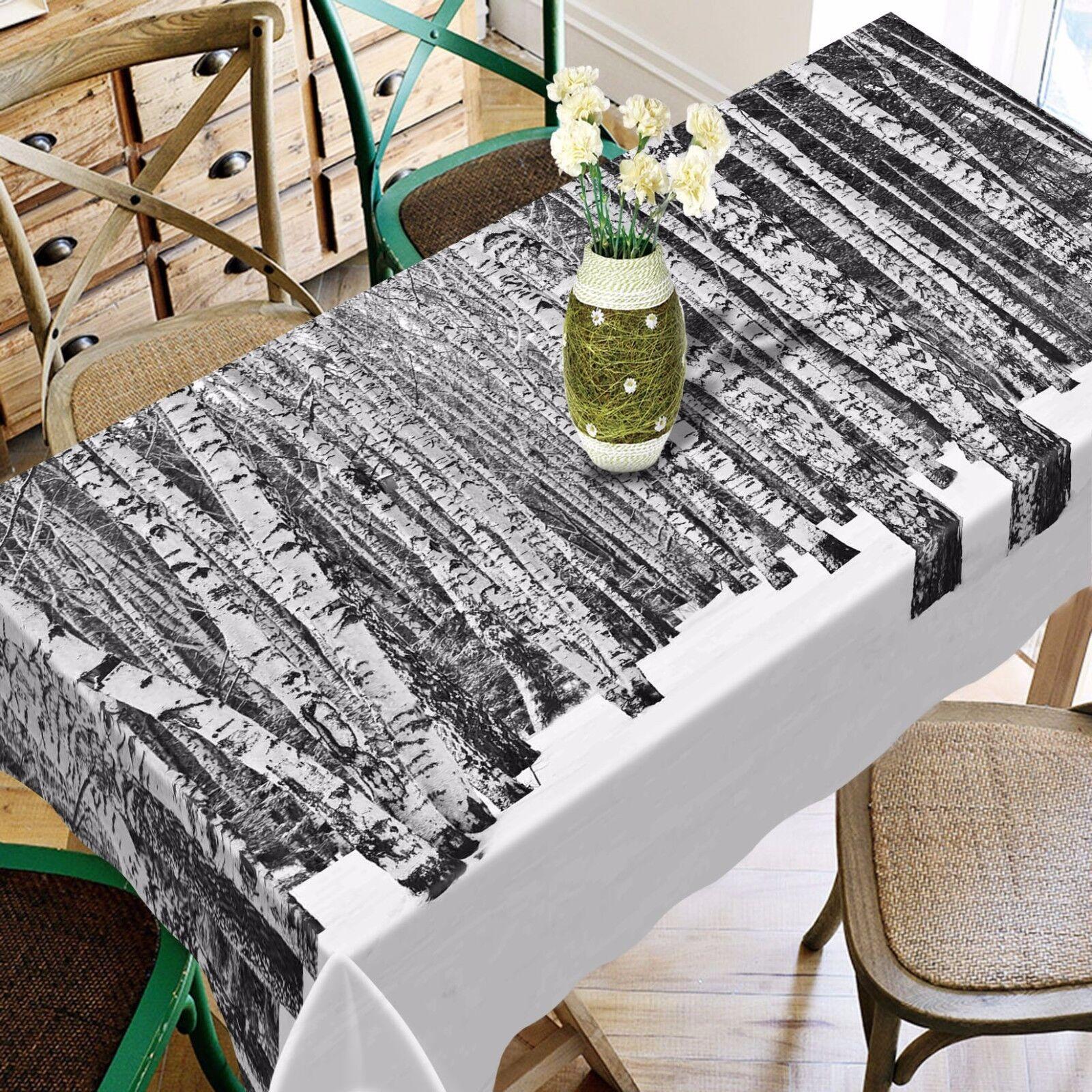 3D Trunk Tablecloth Table Cover Cloth Birthday Party AJ WALLPAPER UK Lemon