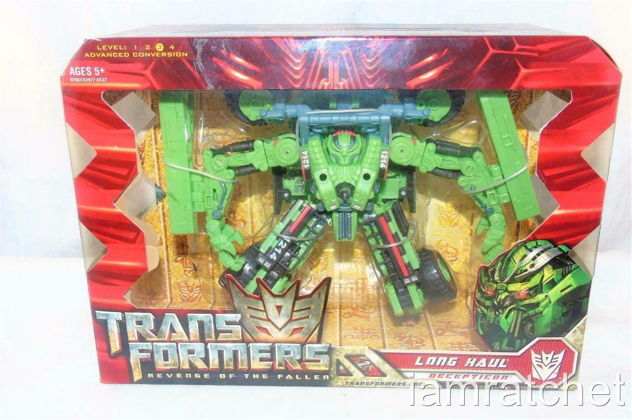 Transformers Movie rossoF Voyager classe lungo Haul MISB Sealed