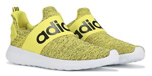 adidas-LITE-RACER-CF-SLIP-ON-ADAPT-Cloudfoam-CF-Yellow-Black-White-Shoes-s1