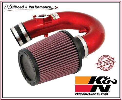 K/&N 69 Series Red Typhoon Air Intake System 00-04 Toyota Celica GT 1.8L I4