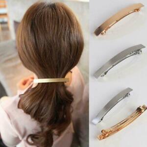 Frauen-Maedchen-Haarspange-Einfache-Haarnadel-Haarspange-Haarschmuck-Grip-F9M6