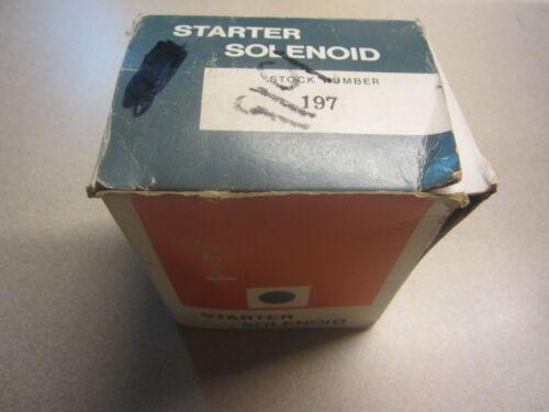 197 Starter Solenoid 1114458-D981 UNI4-04