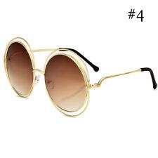 844eedd7b44f item 3 Vintage Gold Silver Frame Oversized Round Sunglasses Women Mirror  Sun Glasse new -Vintage Gold Silver Frame Oversized Round Sunglasses Women  Mirror ...