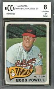 Boog-Powell-Card-1965-Topps-560-Baltimore-Orioles-BGS-BCCG-8