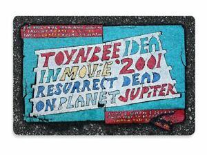 Floormat 60x40cm Weird Mystery Outsider Street Art Unique TOYNBEE TILE Doormat