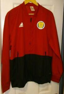 Scotland Adidas Player Issue Presentation Jacket 2018/2019 Season.  Size XL.