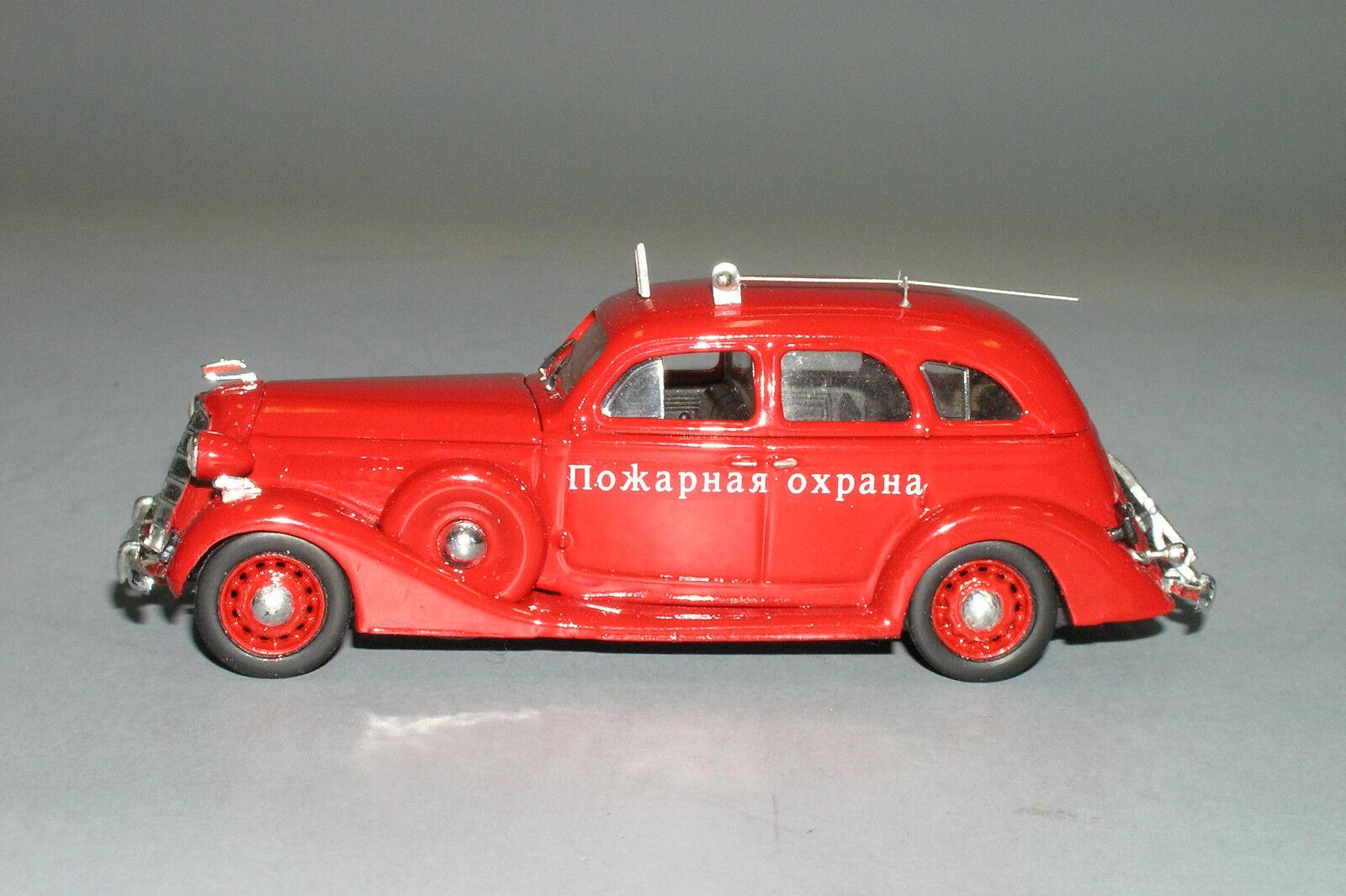 Rara ZIS 101 Coche de bomberos ruso Hecho a Medida 1 43