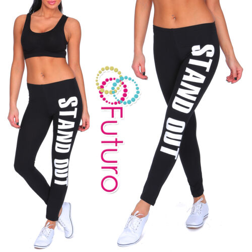 Pleine longueur legging imprimé démarquer active Survêtement Fitness Gym Yoga Pantalon W16