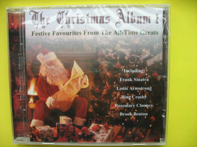 V/A-CHRISTMAS ALBUM VOL 1. CD ALBUM. 25 FESTIVE CAROLS AND SONGS.CROONERS. NEW