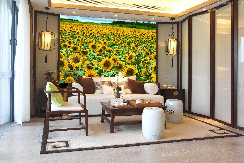 3D Schöne SonnenBlaume 7 Tapete Wandgemälde Tapete Tapeten Bild Familie DE Summer