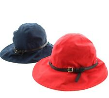 fbdceaef2e5 Coach 82798 Women s Madras Plaid Lined Floppy Sun Hat Buckle Trim Cap