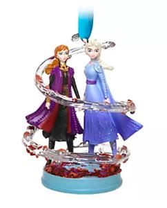 NEW 2019 Disney Store ANNA /& ELSA Sketchbook Ornament  NWT NIB FROZEN 2