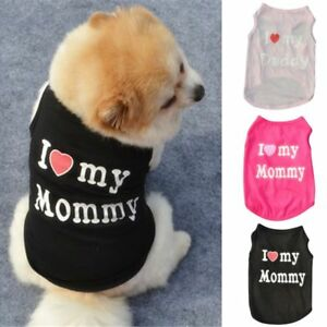 Small-Dog-Cat-Vest-Puppy-T-Shirt-Coat-Pet-Dog-Clothes-Summer-Apparel-Costumes-US