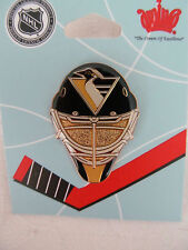 PITTSBURGH PENGUINS Officially Licensed Collectable Lapel Hat Pin Goalie Mask A