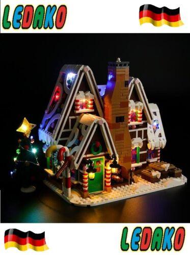 LED Beleuchtungsset für Lego® für gingerbread house 10267 lebkuchen by ledako
