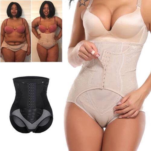 Womens Butt Lifter Hi-Waist Tummy Control Body Shaper Shorts Waist Trainer Panty