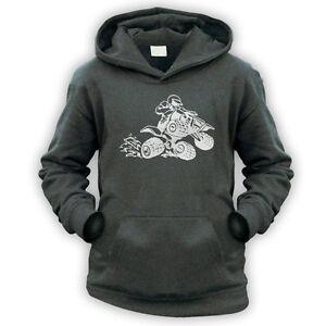 7 Colours XS-XXL Eat Sleep Moto X Kids Childrens Motocross Hoodie