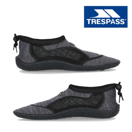 Trespass Mens Womens Water Shoes Slip On Diving Surf Swimming Anti Slip Shoes