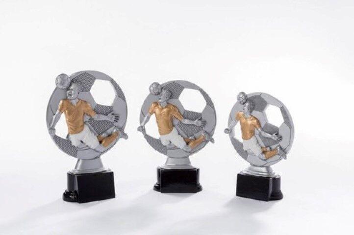 Fußball Pokal Pokale mit Gravur einzeln oder oder oder als 3er Serie Sieger Preis df603c