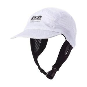 Ocean-amp-Earth-Men-039-s-ULU-Surf-Cap-In-White-Tread-for-Surfing-amp-Water-Sports