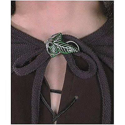 LOTR LORD RINGS Official Licensed Lorien LEAF Elf Cloak PIN PROP Replica Rubies