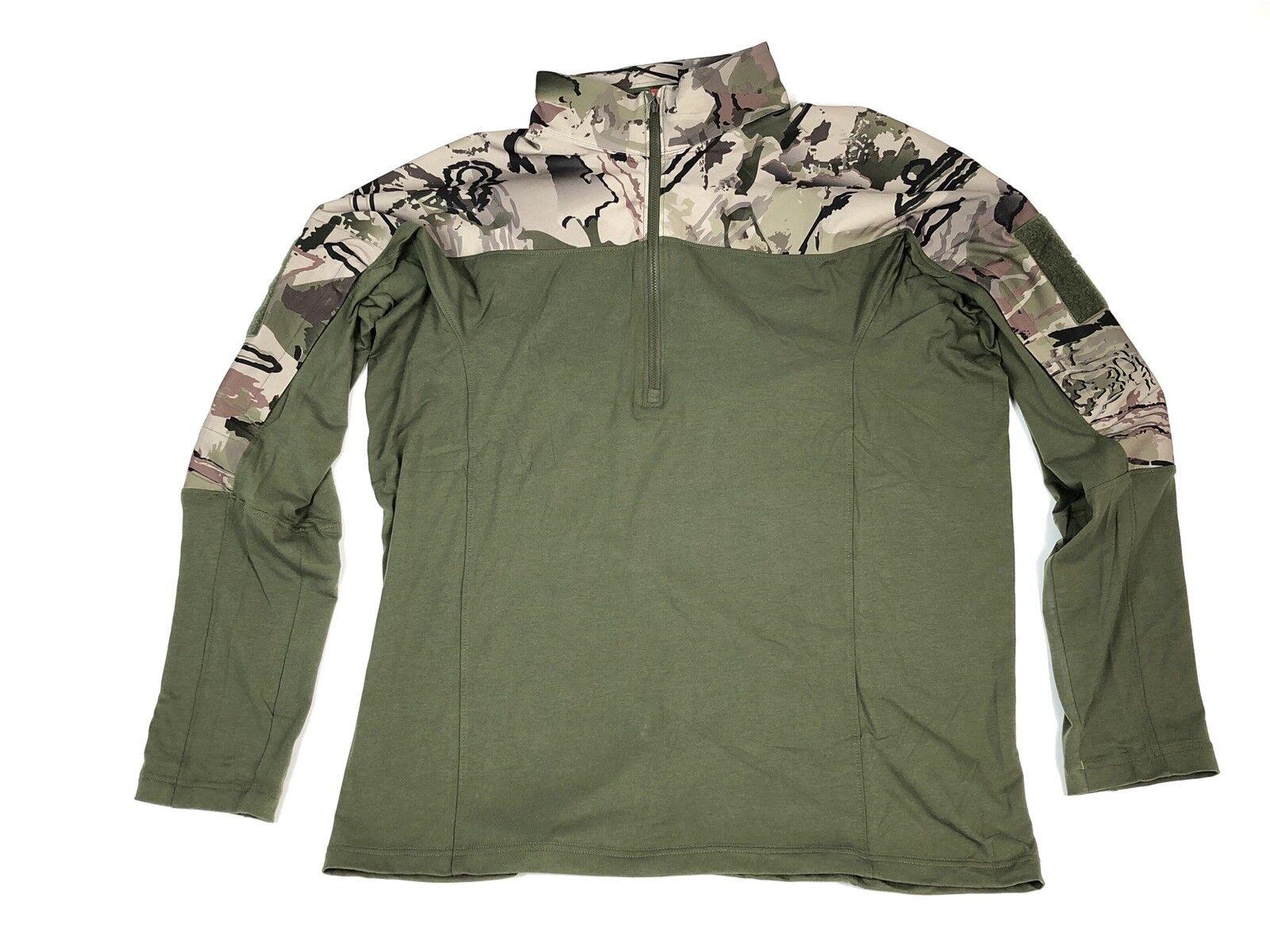 Under Armour  Herren UA Tactical Combat Shirt Größe M Ridge Reaper Barren Camo