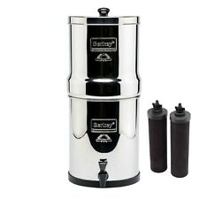 Travel Berkey Water Purifier w/2 Black BB-9 Filters Authorized Dealer & Warranty