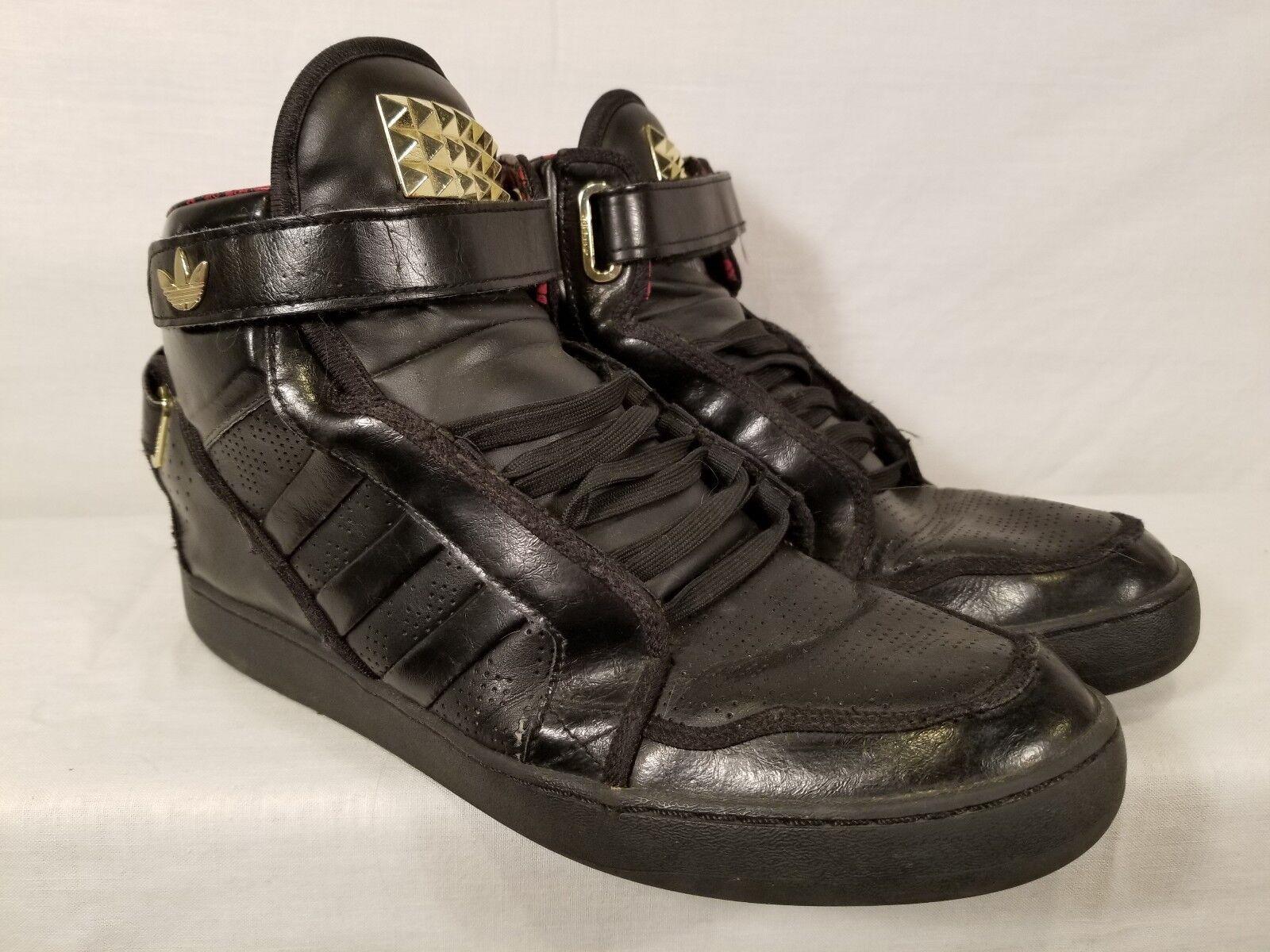 Le scarpe di pelle nera adidas superstar alte scarpe da basket mens 11,5 | Numerosi In Varietà  | Uomo/Donna Scarpa